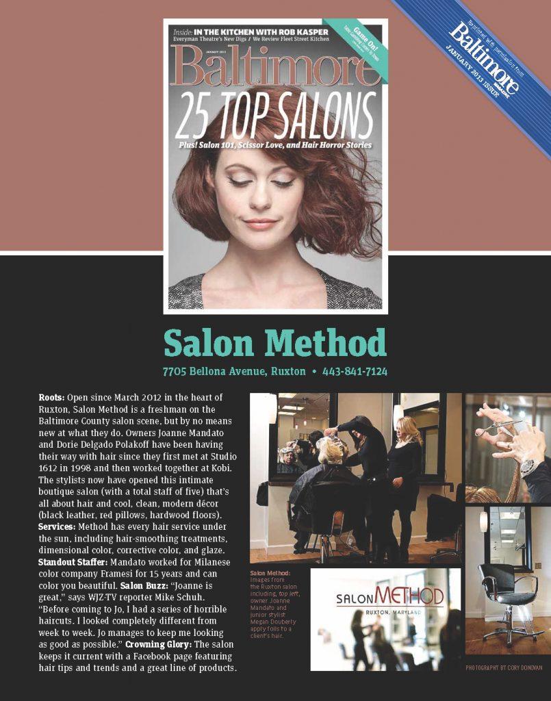 Salon Method Experience Our Method
